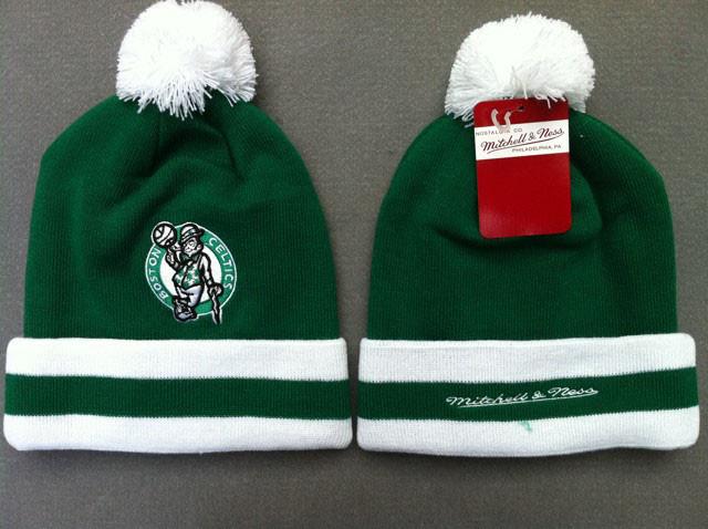Шапка зимняя Boston Celtics  / SPK-86 (Реплика)
