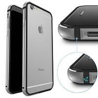 Бампер Evoque metal+tpu для Apple iPhone 6/6s Space Gray, фото 1