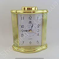 Настольные часы будильник Pearl PR7 прямоугольник подсветка арабские цифры шаговый ход разные цвета