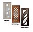 Дверь межкомнатная остекленная Роксана (Дуб английский), фото 8