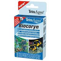 Tetra Aqua Biocoryn 12 капсул - препарат для разложения органики (на 600 л)