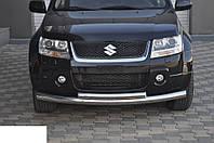 Двойная дуга на передний бампер Suzuki Grand Vitara