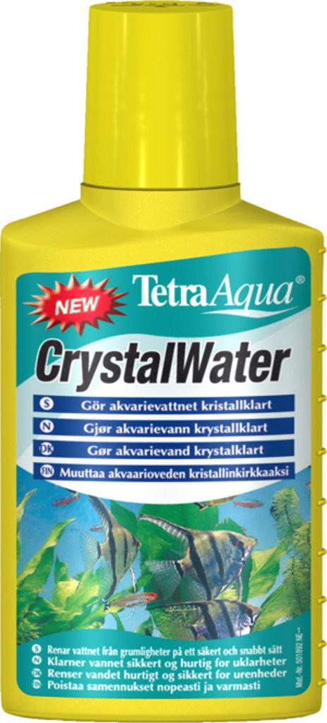 Tetra Aqua Crystal Water 250ml - средство от помутнения воды в аквариуме - Интернет-магазин «Моё дело» в Харькове