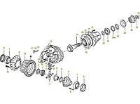 Каталог запчастей#Механизм привода переднего ведущего моста