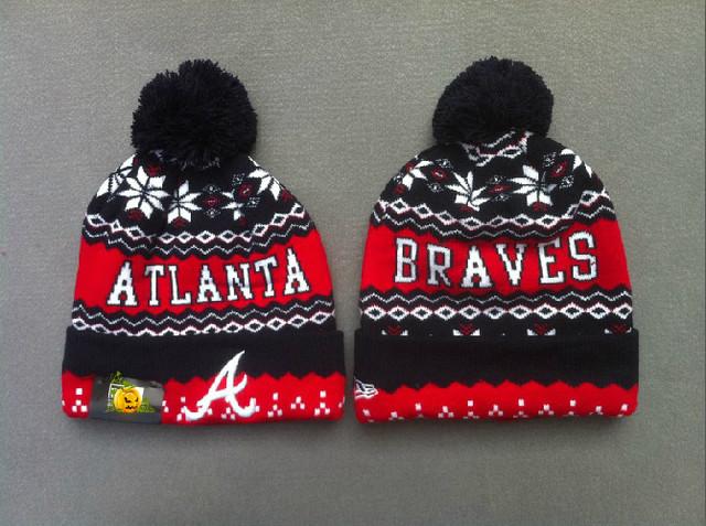 Шапка зимняя Atlanta Braves / SPK-81 (Реплика)