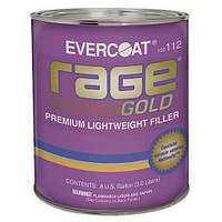 Rage Gold, Evercoat премиум шпатлевка, легкая обработка