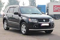 Боковые подножки (BMW-тип Black) Suzuki Grand Vitara