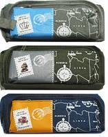 "Пенал-сумочка 7733 ""Карта"" (1 отделение + 1 карман)"