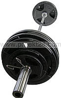 Штанга олимпийская 120 кг. Гриф 2,2 м.