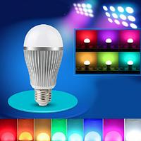 Wi-fi лед лампочки MiLight RGBW 9W WW E27, фото 1