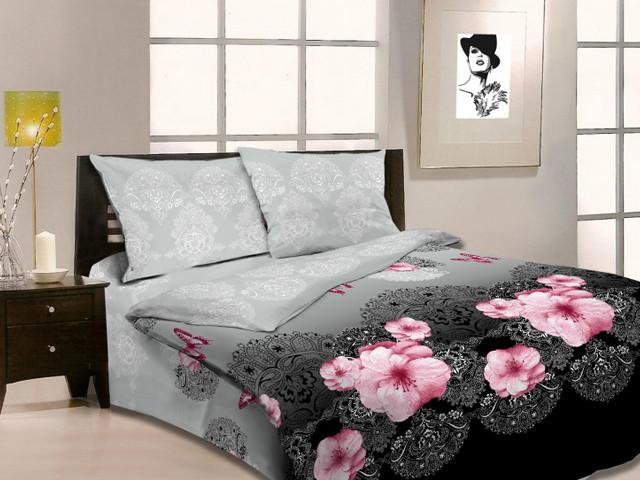 """Полуторный комплект постельного белья """"Царица ночи"""""""