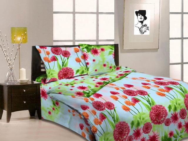 """Полуторный комплект постельного белья """"Цветущий луг"""""""