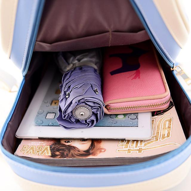Рюкзак для девочки экокожа