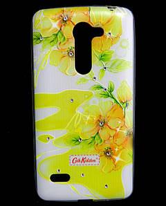 Чехол накладка для LG RAY X190 силиконовый Diamond Cath Kidston, Sun Flowers