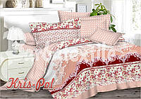 Комплект постельного белья полуторный сатин, 100% хлопок. (арт.5665)