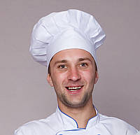 Шапочка повара белая