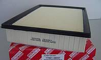Фильтр воздушный на Toyota prado.Код:17801-38051