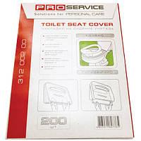 PRO service накладки на сиденье унитаза без дизайна, 2 слоя, 200 шт.