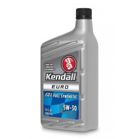 Моторное масло KENDALL EURO GT-1 FULL SYNTHETIC 5w30 1L