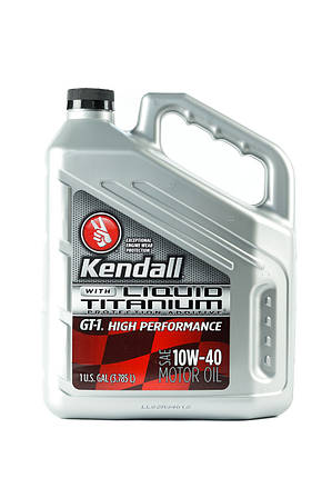 Моторное масло Kendall GT-1 High Performance Synthetic Blend Liquid Titanium 10w-40 4L