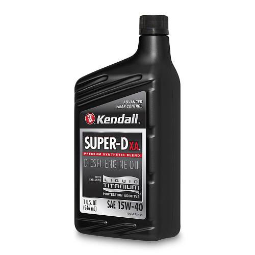 Моторное масло KENDALL Super-D XA 15W-40, 1L