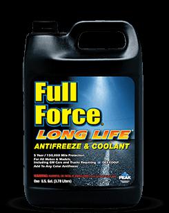 Антифриз-концентрат красный (-80) PEAK FULL FORCE LONG LIFE Antifreeze/Coolant 3,785л