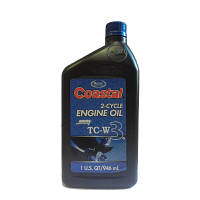 Двухтактное моторное масло Coastal 2-cycle engine oil TC-W3 0,946л