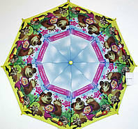 """Детские зонты """" Маша и медведь """""""