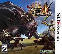 Monster Hunter 4 Ultimate 3ds (Американская версия)