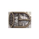 Рабочая пряжка с рисунком металлическая 14мм, 16мм, 18мм, 20мм, 22мм,25мм