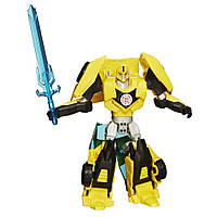 """Трансформер Бамблби(Bumblebee Warriors) """" Роботы по прикрытем"""" Hasbro  6+"""