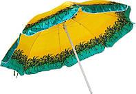 Зонт торговый ( пляжный ) 2,5 м рисунок пальмы