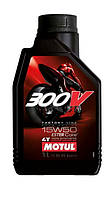 Масло моторное Motul 300V 4T Factory Line Road Racing 15W-50 1л