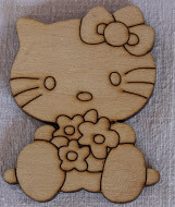 "Заготовка ""Hello Kitty 01"" фанера"