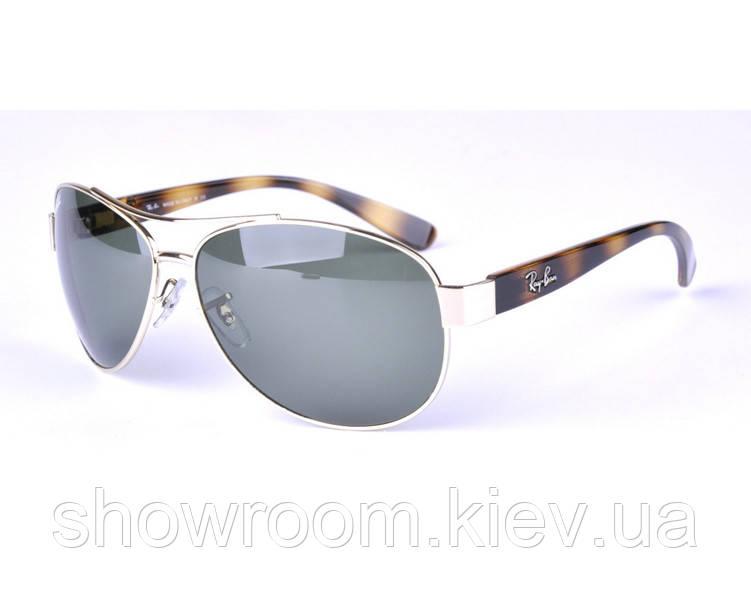 Солнцезащитные очки в стиле RAY BAN 3386 001 LUX