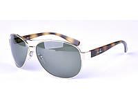 Солнцезащитные очки в стиле RAY BAN 3386 001 LUX, фото 1