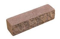 Кирпич декоративный узкий на сером цементе (коричневый, красный, оливковый, светло-оливк, черный)