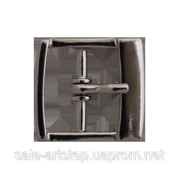 Рабочая пряжка металлическая 20мм, 25мм Металл, Украина, 20, темный никель