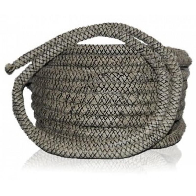Термостойкий базальтовый шнур 10мм.