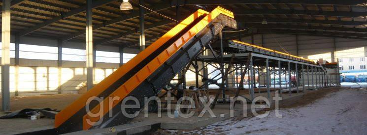Транспортеры макулатуры конвейер для мешков с мукой