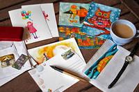 Набор посткроссера. Какие открытки для посткроссинга выбрать?