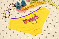Трусики/Слипы Love Pink Victoria's Secret, желтые, фото 1
