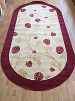 Акриловый бордовый ковер , фото 1