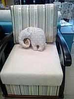 Кресло с деревянными подлокотниками Варшава Бис М