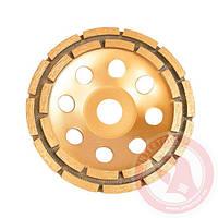 Фреза торцевая шлифовальная алмазная 150x22,2 мм сегмент INTERTOOL CT-6150
