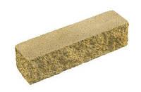 Кирпич декоративный узкий угловой на сером цементе (коричневый, красный, оливковый, светло-оливковый, черный)