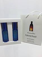 Мужская парфюмированная вода Fahrenheit Dior в подарочной упаковке 2х20 ml RHA