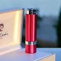 Женская зажигалка Pierre Cardin Франция розовый металлик