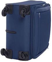Тканевый чемодан на 4-х колесах CARLTON 072J468;03, синий, 76 л., фото 3