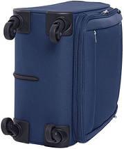 Тканевый чемодан на 4-х колесах CARLTON 072J468;03, синий, 76 л., фото 2